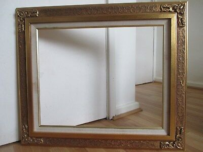 Large Ornate Gilt - Stylised Gesso Foliage Frame for Picture Painting