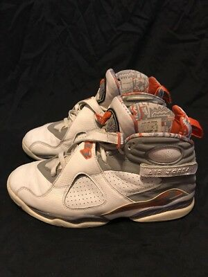 innovative design 39b7d f0aa6 Nike Air Jordan 8 VIII Retro Stealth Orange Size 11. 305381-102 1 2