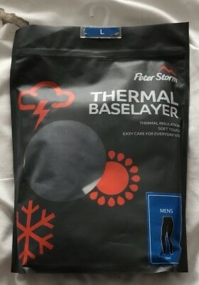 Mens Ski Base Layers Top And Trousers