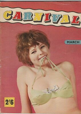 CARNIVAL Magazine March 1966, Mens Entertainment & Glamour Photography