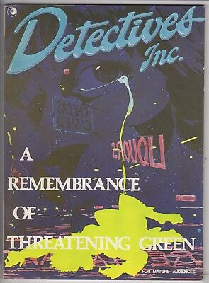 Detective Inc. ' A Remembrance of Threatening Green '   VFN