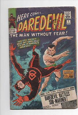 30% OFF - Daredevil 7(vg-), 11(vgfn), 43(fn-) All Silver age, 1st Red Costume