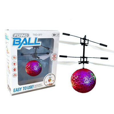Kinder RC Infrared Induction Helicopter Aircraft Flying Ball Helikopte