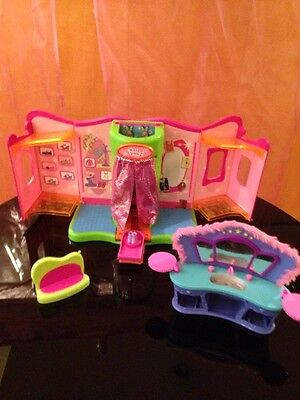 Set Polly Pocket Shop Boutique Sofa Waschbecken  #29