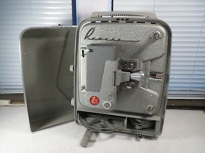Vintage Revere Model 777 8mm Movie Projector Vintage WORKS! good bulb