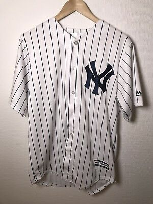 New York Yankees authentic Majestic MLB baseball Jersey size Medium