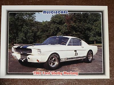 MUSCLE CARS COLLECTORS CARDS 1992 PREMIER EDITION Cards 1-99