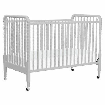 DaVinci Jenny Lind Stationary Crib in Fog Grey Finish ($200 retail!)
