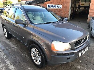 05 Volvo Xc90 2.0 T6 Se 1 F/owner, 7 Seats, Leather Sat Nav, 8 Services,fabulous