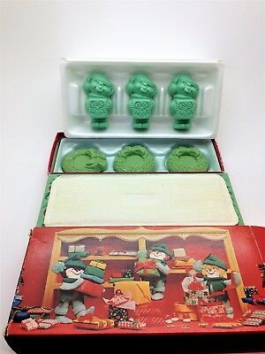 Vintage Avon Holiday Soaps Merry Elfkins and Bayberry Wreaths