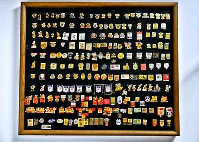 Author's personal 1984 Pin Collection, LA Olympic Games