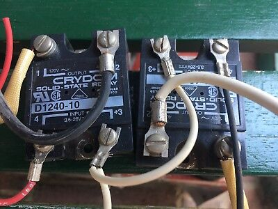 Crydom D1240-10 Solid State Relay See Photos