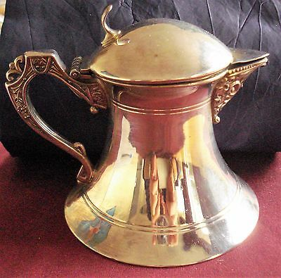 Silver Plated  Lidded Jug By New Amsterdam