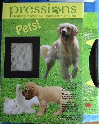 PET'S PAW PRINT KIT BY PRESSIONS CREATING MEMORIES_BLACK * On sale!