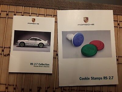 Weihnachtsgeschenk original Stempel Set  Porsche RS 2.7 Collection