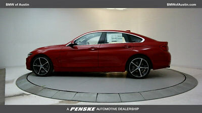 2018 BMW 4-Series 430i Gran Coupe 430i Gran Coupe 4 Series 4 dr Automatic Gasoline 2.0L 4 Cyl Melbourne Red Metall