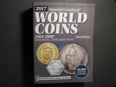 BOOK-2017 Standard Catalog of World Coins 44th Edition - US SHIPPING ONLY