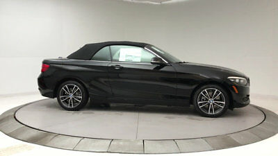 2018 BMW 2 Series 230i 230i 2 Series New 2 dr Convertible Automatic Gasoline 2.0L 4 Cyl Jet Black