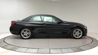 2018 BMW 4-Series 430i 430i 4 Series New 2 dr Convertible Automatic Gasoline 2.0L 4 Cyl Black Sapphire