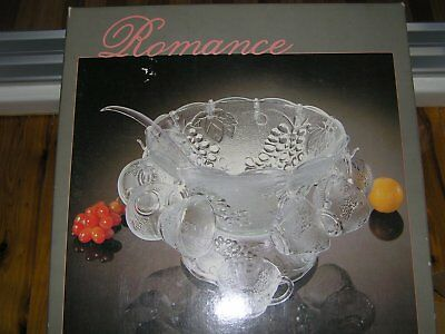 Punch Bowl Set For 12 - Never Used