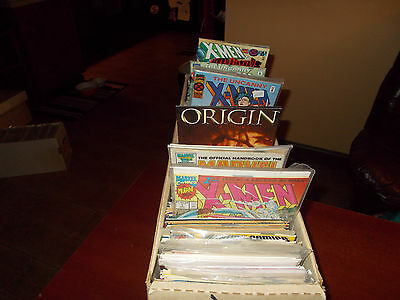 Lot of 51 Different ALL X-Men Comic Book Titles Wolverine Uncanny Grab Bag Gift