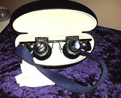 Scrimshaw Study/Viewing Inspectacles w/Shop Case,HiMag.Hp Light,420specs Gift