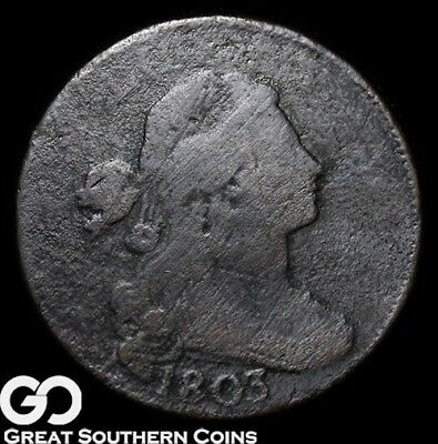 1803 Large Cent, Draped Bust