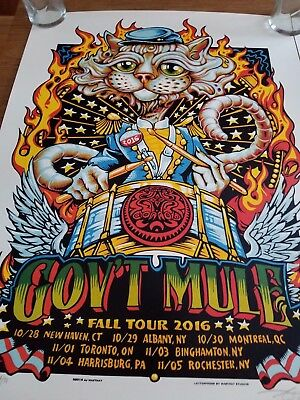 AJ Masthay Artist Edition Poster Lot Dead and Company Signed Doodled