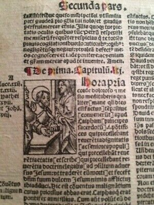 1474/1529 Exceptional 'Vita Christi' Post Incunable Set