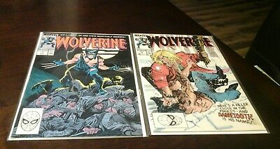 54 Wolverine Comic Lot 1988 1-189 Unlimited Series higher grade lot NO RESERVE