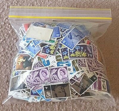 Bulk Lot 2219 UK British Unused Stamps With Gum Huge Duplication  £77.29 FV