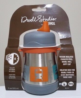 Dwell Studio for Thermos Vacuum Insulated Stainless Steel Sippy Cup 7 oz