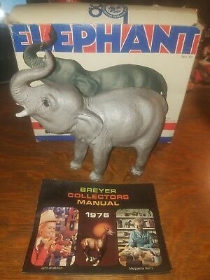 Vintage Breyer #91 Elephant 1976 with Box Zoo Animal Horse Toy