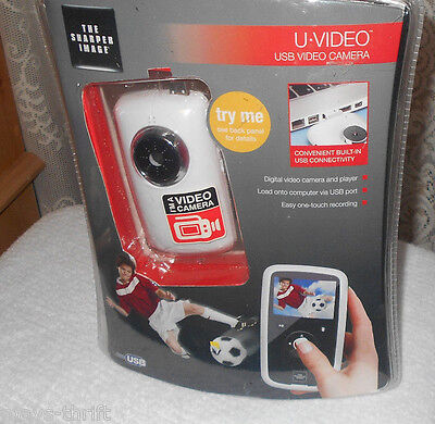The  Sharper Image U - Video Usb Video Camera  New  Free Shipping