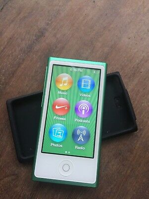 Apple iPod Nano 7th Generation 16GB Green A1446 (MD478ZP)