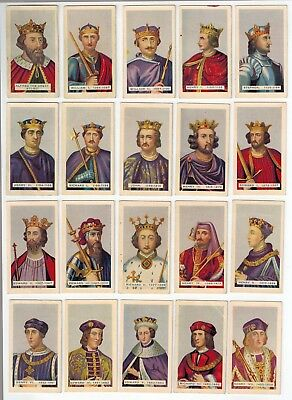 Hoadley's Chocolates - British Empire Kings & Queens - Full Set Collector Cards