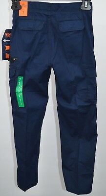 Wear First boys Cargo Pants Navy size 7 NEW FREE SHIPPING