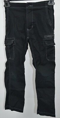Wear First boys Cargo Pants Black Size 6 FREE SHIPPING
