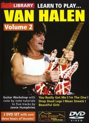 Learn To Play Van Halen Volume 2 Lick Library Dvd Set