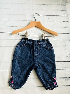 Baby Girls Clothes 0-3 Months - Cute  Girl Jeans Trousers -