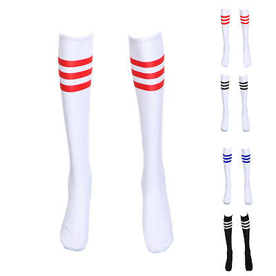 chausettes de Uniforme Pompom Girl Cheerleader 4 couleurs