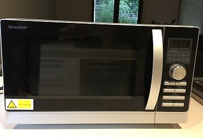 Sharp Convection Microwave Oven R-80A0(S)
