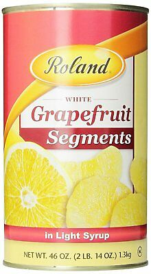 Roland Grapefruit, Segments in Light Syrup, 46 Ounce Pack of 4