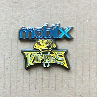 Newcastle Mobilx Vipers Pin Badge
