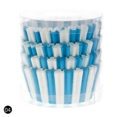 Blue 100PCS Paper Cupcake Case Wrapper Muffin Liners Baking Cups BC UK07
