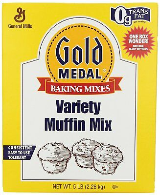 Gold Medal Variety Muffin Mix, 5-Pound