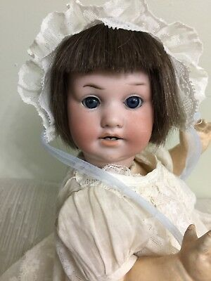 """Antique Bisque Character Baby By George Borgfeldt On A Comp Body 11.5 """""""