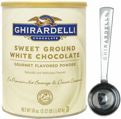 Ghirardelli - Sweet Ground White Chocolate Gourmet Flavored Powder 3.12 lb -