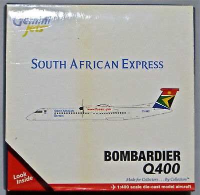 Bombardier Q400 - South African Express - Gemini Jets - 1/400 Scale