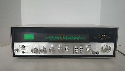 Vintage Sony Str-6036 Fm Stereo / Fm-Am Receiver Solid State